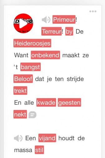 Bliu Bliu Interface Dutch