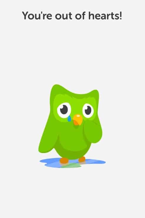 Duolingo Hearts Mascot