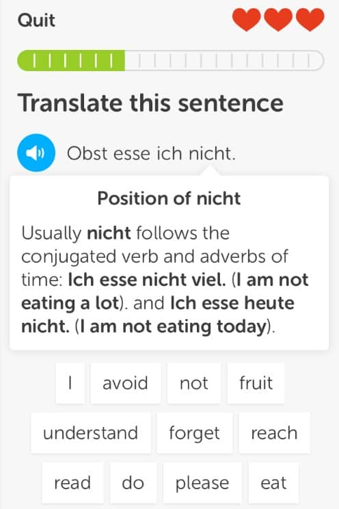 Duolingo Grammar