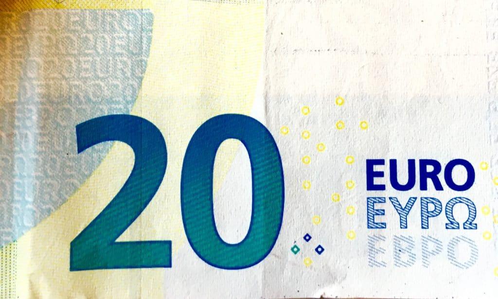 20 Euro Note
