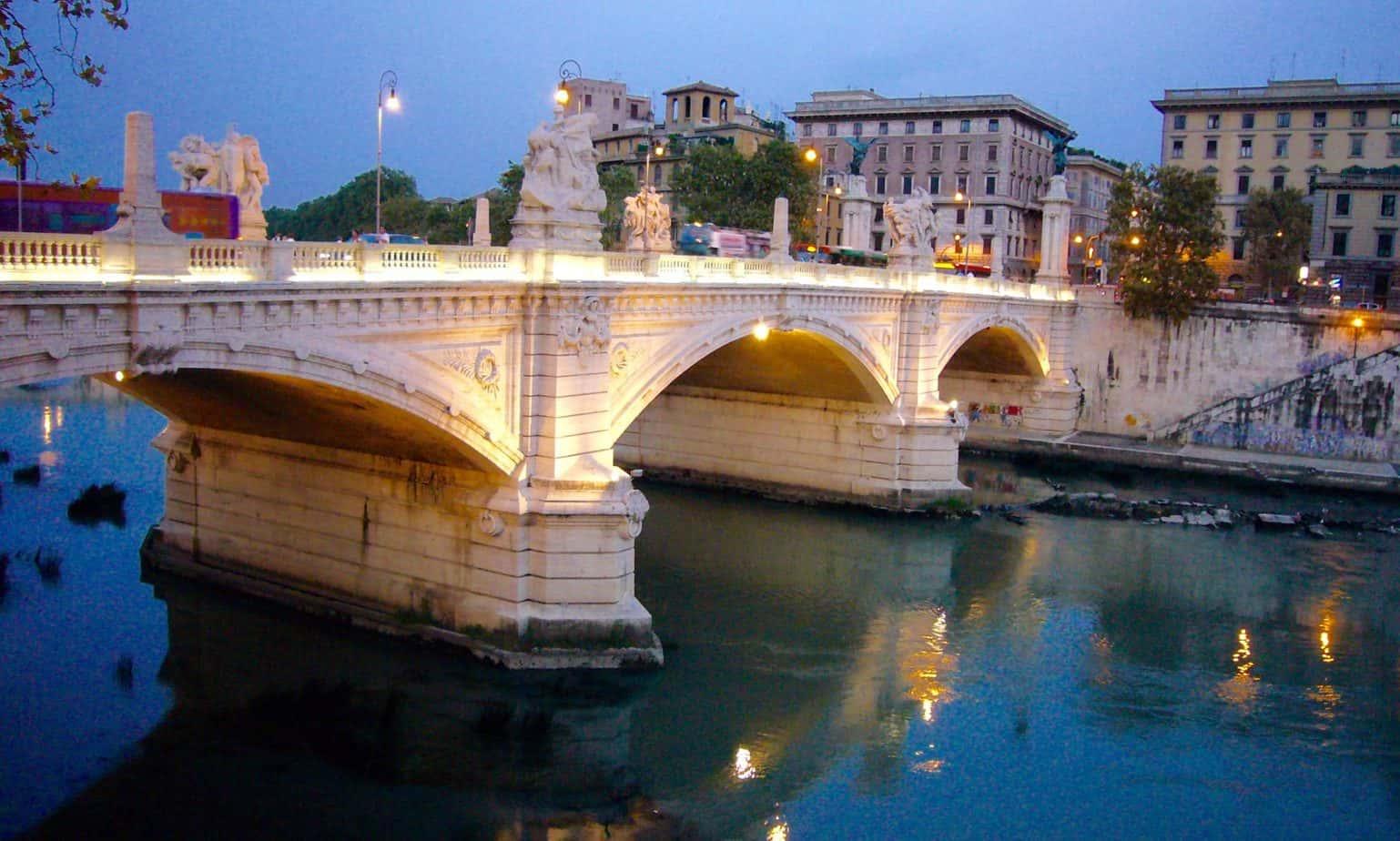 Rome Ponte Emanuele II
