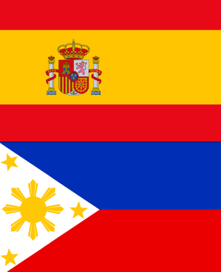 Filipino Spanish flags
