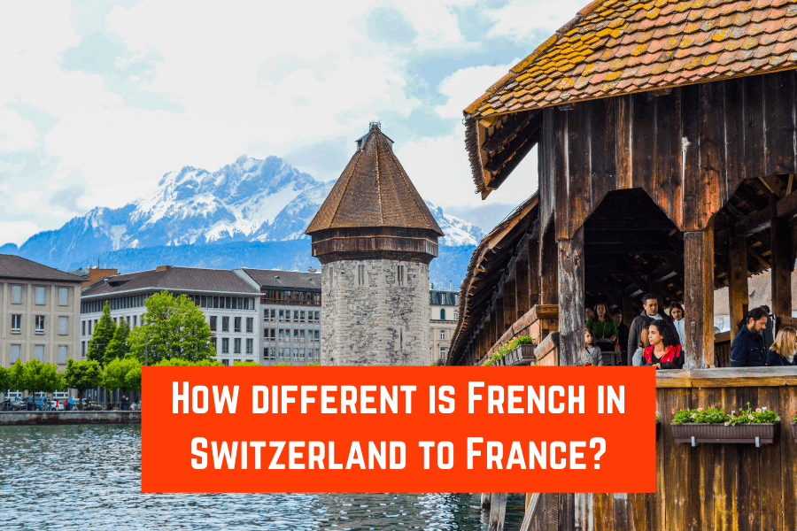 How different is French in Switzerland to France