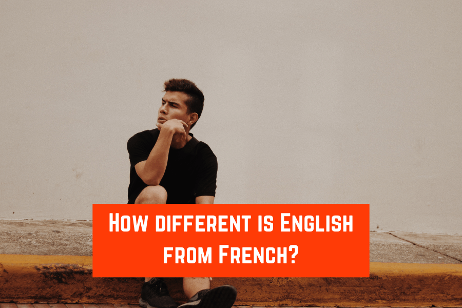 How different is English from French?