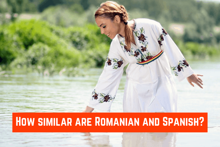 How similar are Romanian and Spanish