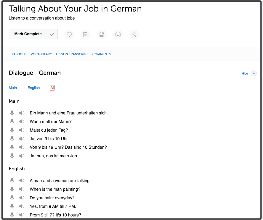 GermanPod101 Talking About Your Job in German