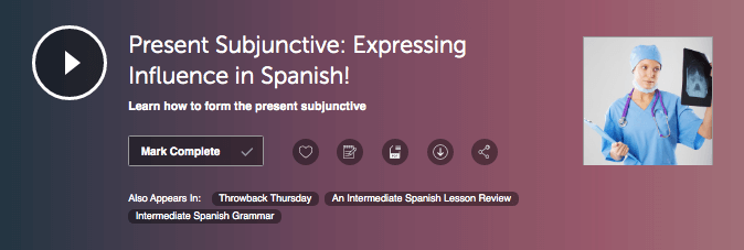 SpanishPod101 Grammar Lesson