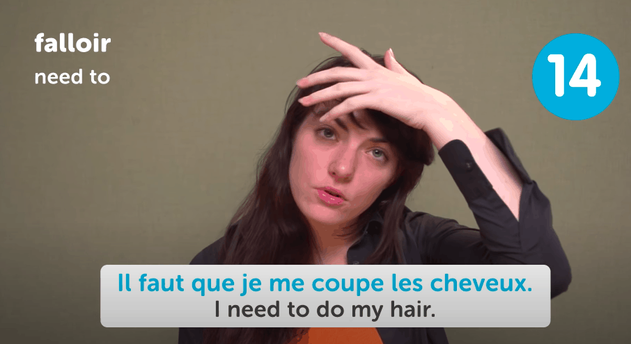 FrenchPod101 Review - Video Lesson Screenshot