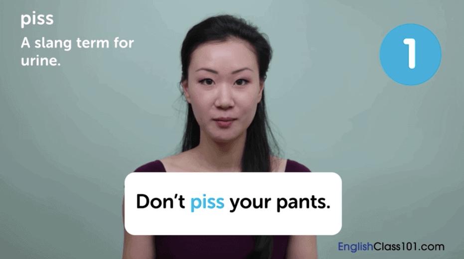 EnglishClass101 Review - Slang Video