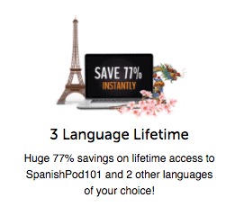 SpanishPod101 77 Percent Off (Lifetime)