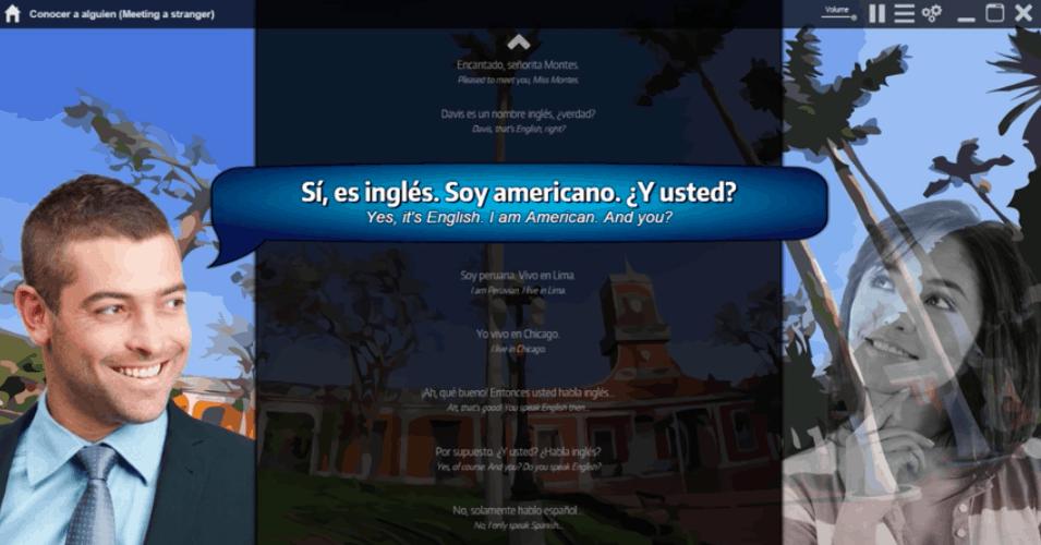 Ouino Spanish Review -- Program Screenshot