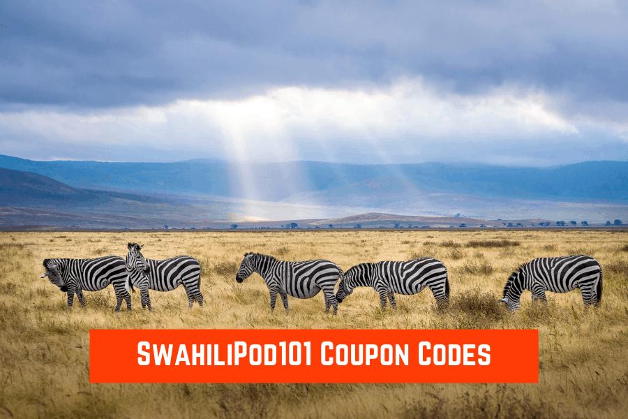 SwahiliPod101 Coupon Code