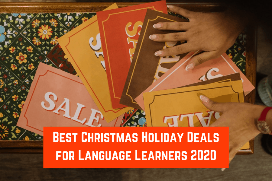 Best Christmas Holiday Deals for Language Learners 2020