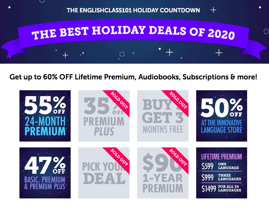 Pod101 Christmas Holiday Sale Updated Screenshot
