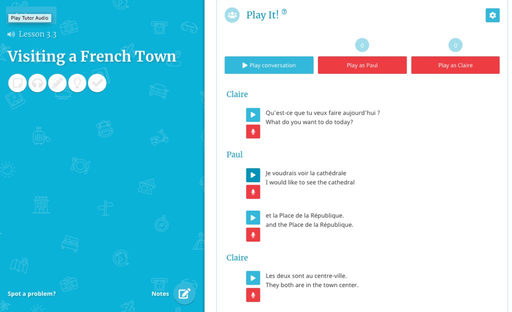 Rocket French Lesson - Visiting a French Town