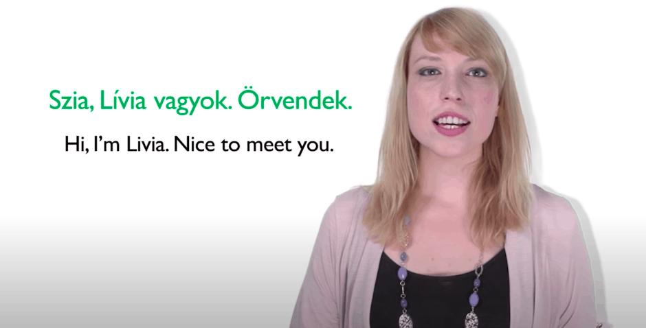 HungarianPod101 Teacher Livia