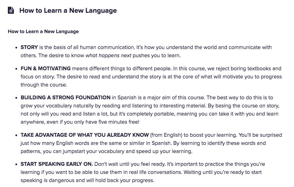 Language Learning Tips Spanish