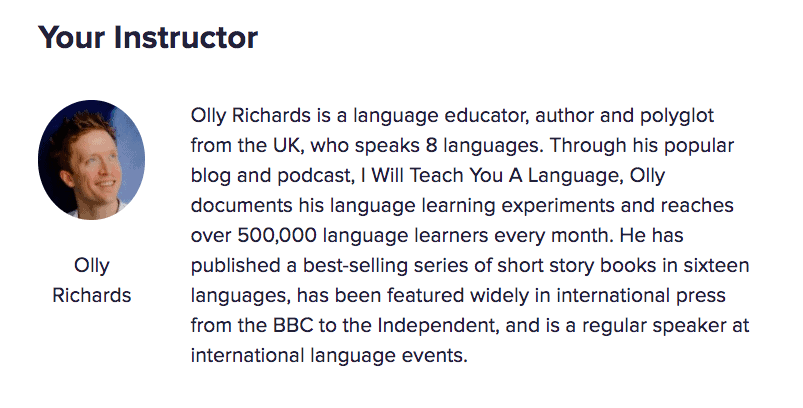 Olly Richards Bio