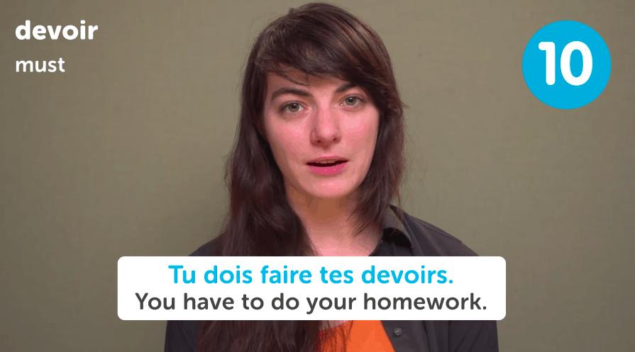 French Homework