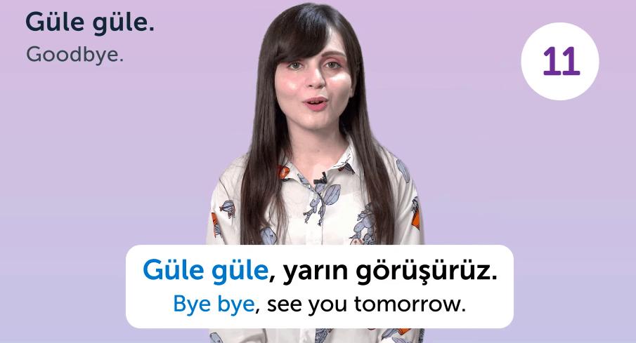 TurkishClass101 Screenshot - Goodbye