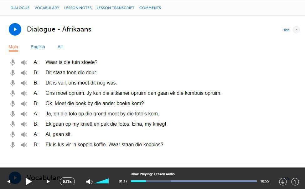 AfrikaansPod101-Review-Audio-Lesson-Dialogue