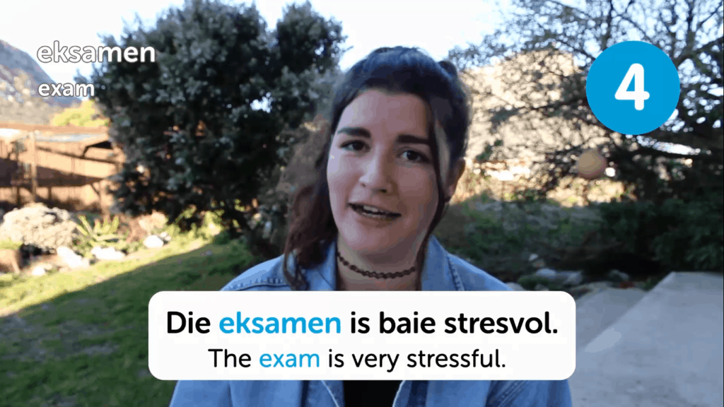 AfrikaansPod101-Review-Video-Lesson-Stressful-Exam
